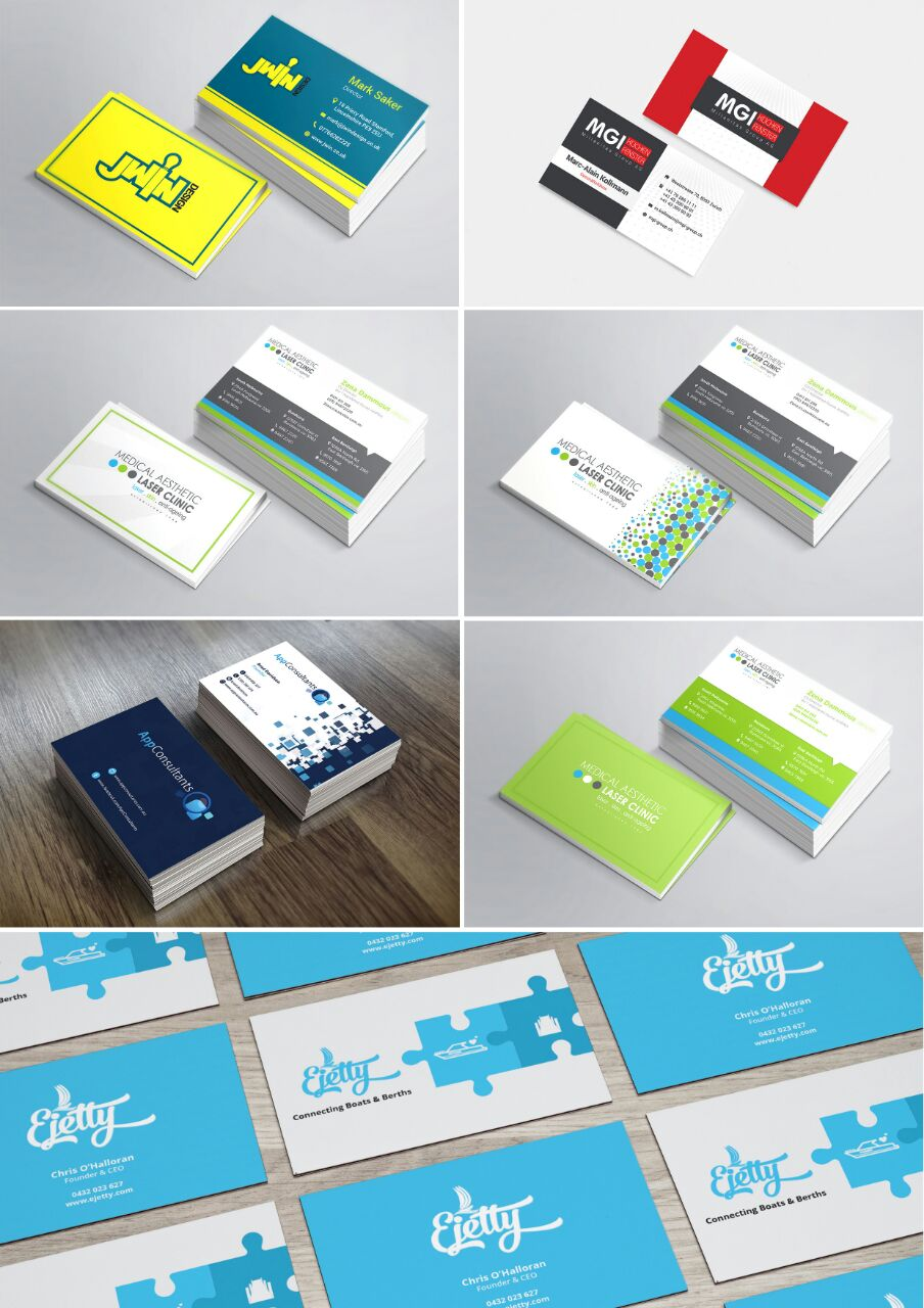 Do Awesome Business Card for $5 - SEOClerks