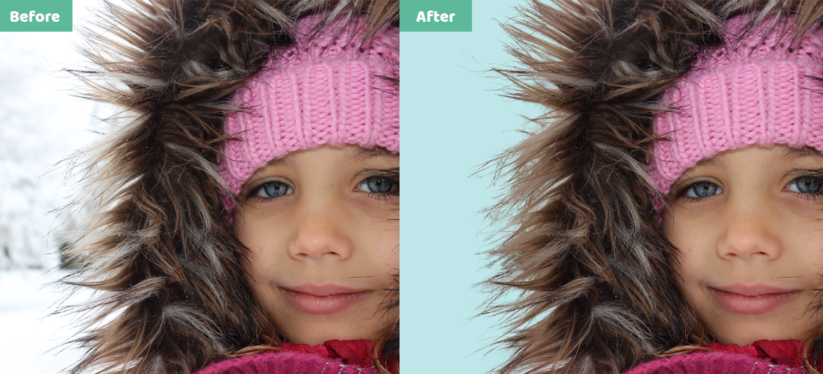 Hair Masking any person and Animal or Any Object