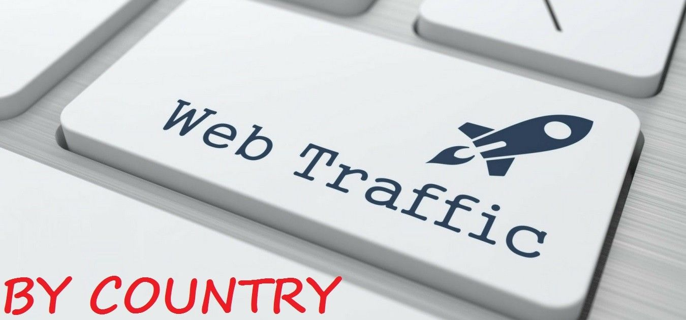 WEB TRAFFIC BY COUNTRY TARGETED WEBSITE TRAFFIC