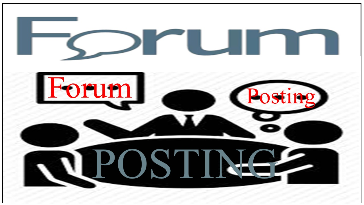 Provide 10 Forum Posting On Your Niche