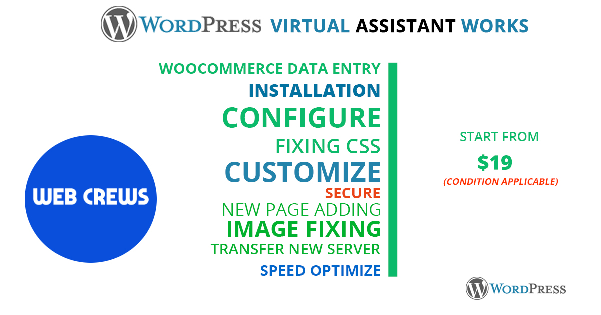 I will do 3 hours WordPress Professional virtual assistant for your business