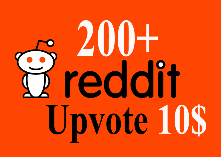 200+ Real Reddit Upvotes With High quality accounts