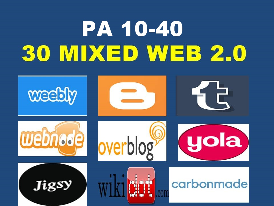 Register 7 Mixed Expired Web 2.0 High PA