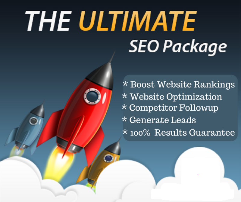 SEO Package for Boosst Website Rank in Google 1st page
