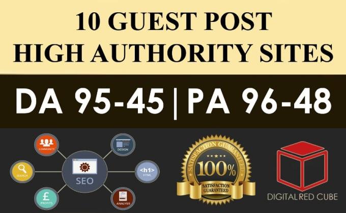 10X Authority Guest Post DA 50