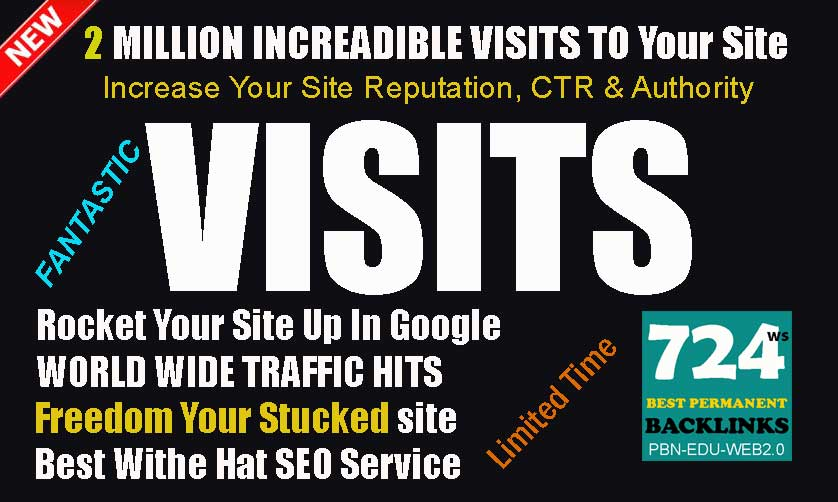 BUY 2 MILLION WORLDWIDE TRAFFIC VISITORS TO SUPERCHARGE YOUR ALEXA RANKING
