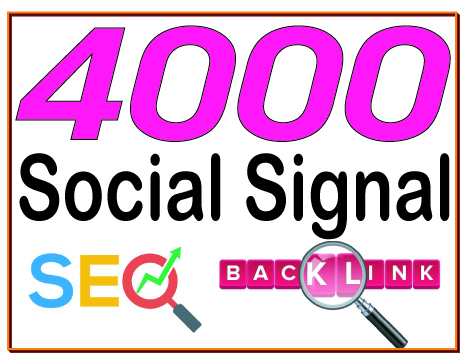 Do You 4000 HQ. Social signal PR7 to PR10 Backlinks Boost SEO Ranking