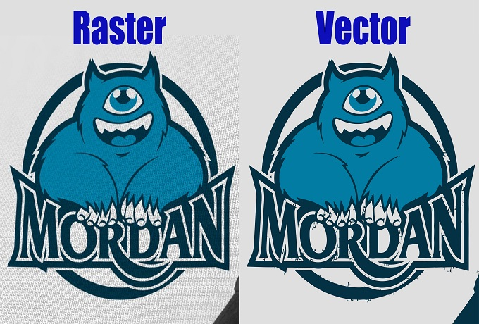 Vector tracing logo or image within 6-12hours