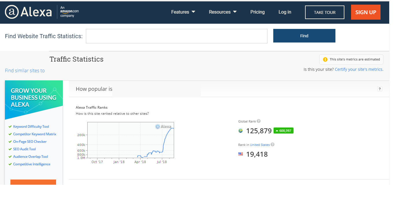 Improve alexa ranking under 199,999