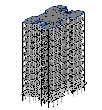 Make Your 2d Structural Plans To 3d Model Using Revit Structure With Rft Details