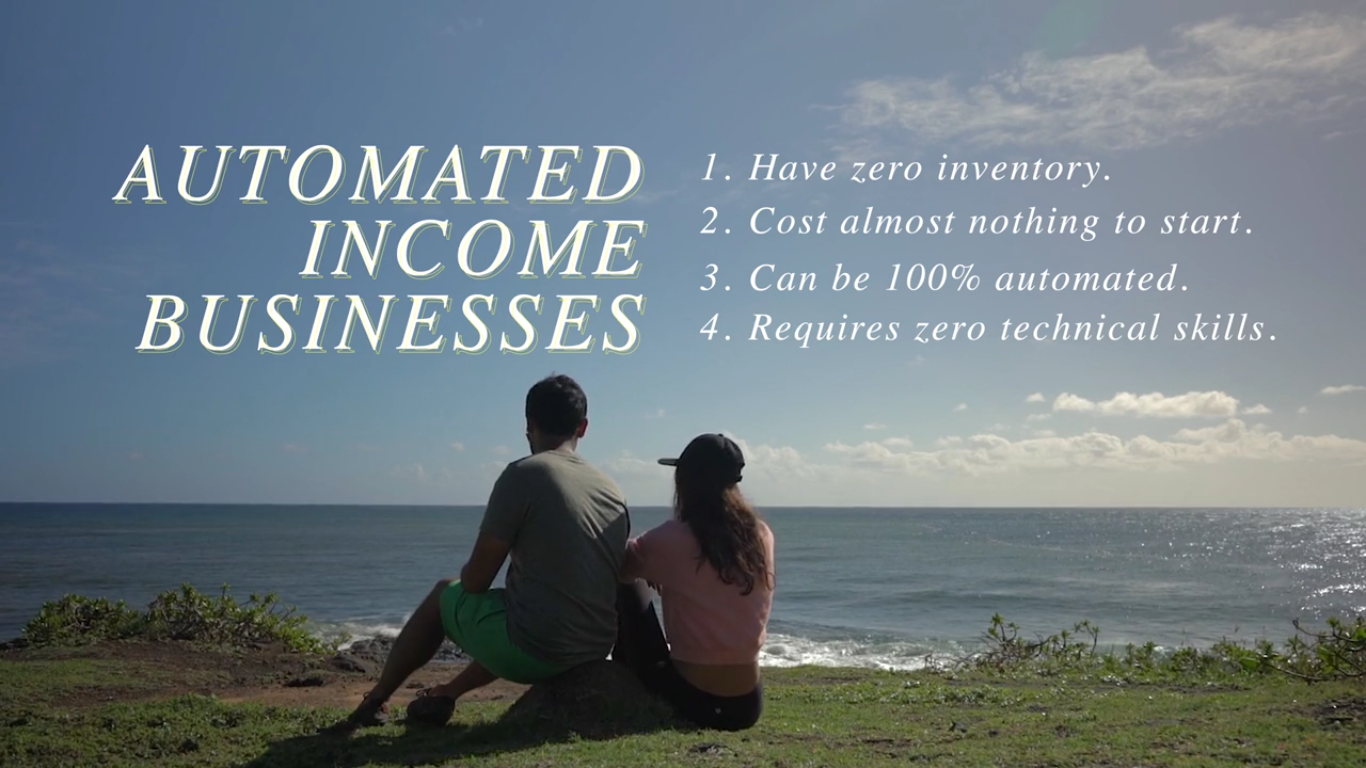 I Am creating a step by step money course that teaches how to get an automate income forever
