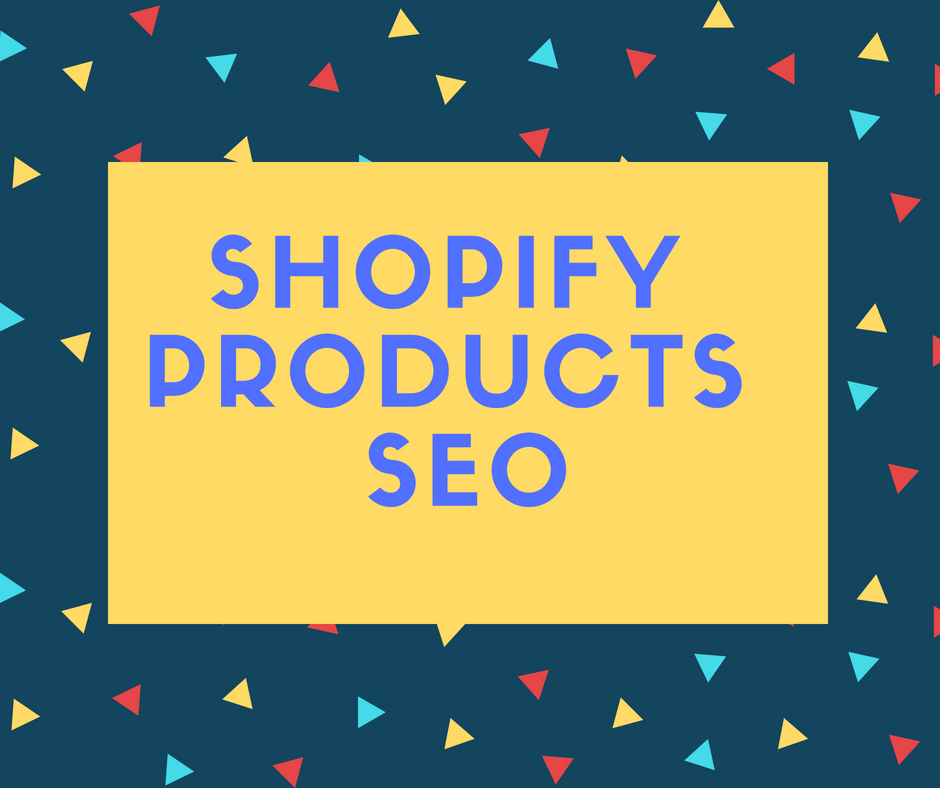shopify products SEO to increase sales