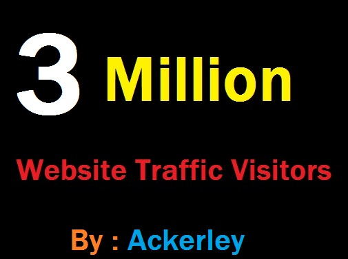 3 Million Worldwide Website Traffic For network Marke...