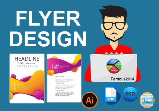 Exclusive Flyer design for your company/website