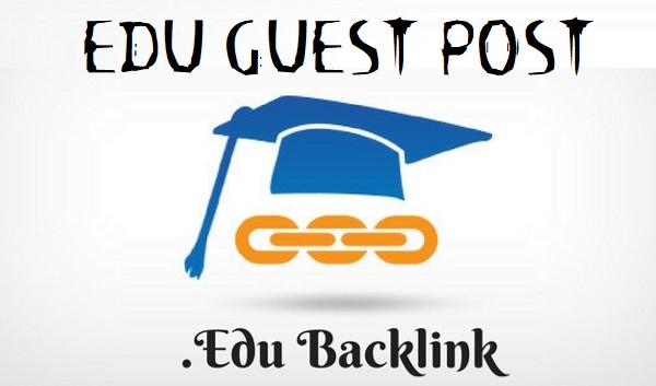 Write and Publish 4x Edu Guest Post .EDU Blog DA90 Dofoll