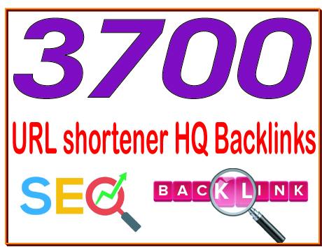 Get 3700 URL shortener High PR4-PR7 Highly Authorized Google Dominating Backlinks