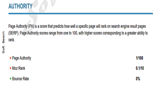 Get 1 Expert Analysis Report of problems inside the website.