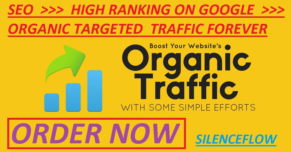 Boost your organic web traffic by SEO