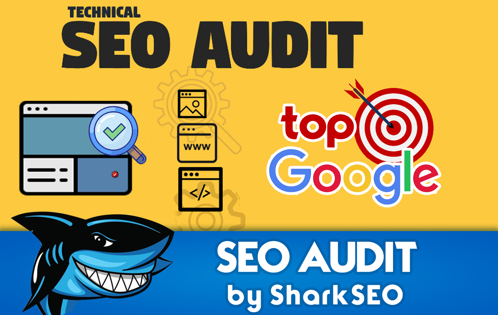 do manual site audit and promotion plan in google