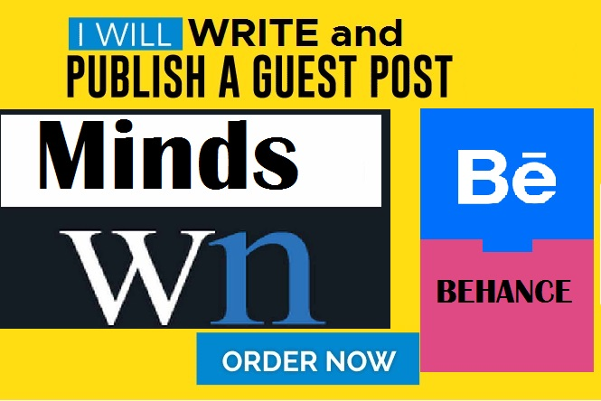 Write and post on Minds,Wn,Behance DA80 PLUS blog iste
