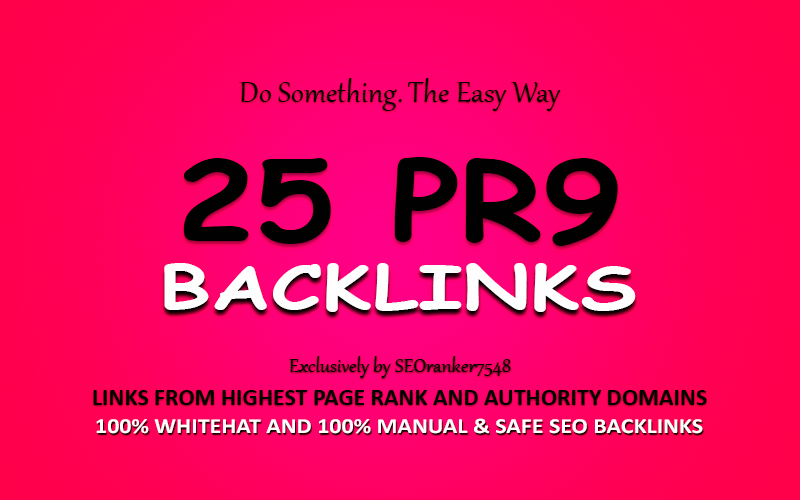 25 Pr9 Highest Authority Backlinks