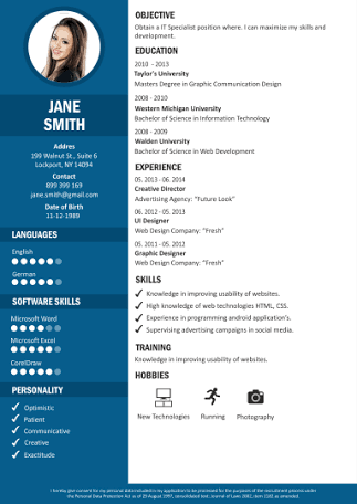 Make resume(cv) within 6-7 hours