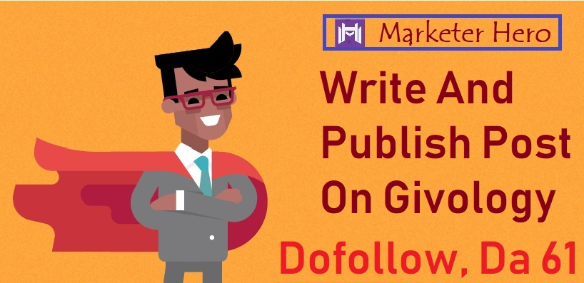 Dofollow,  Da61 Write and Publish Post On Givology