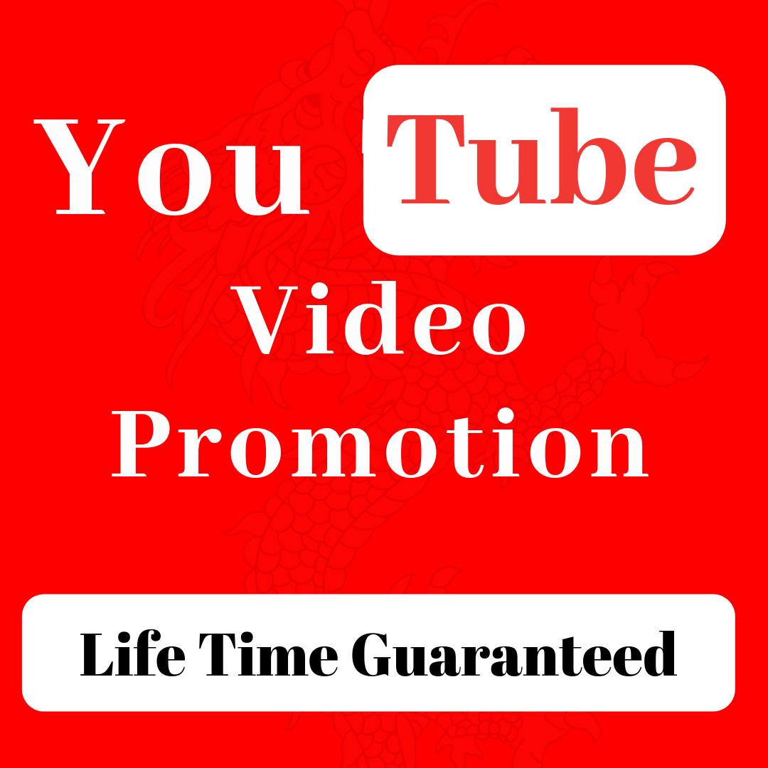 Life time Guaranteed You Tube Video Audience Promotion