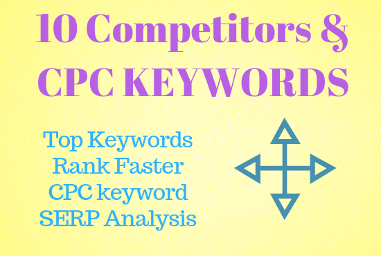 10 Competitor Analysis with CPC Keywords Special
