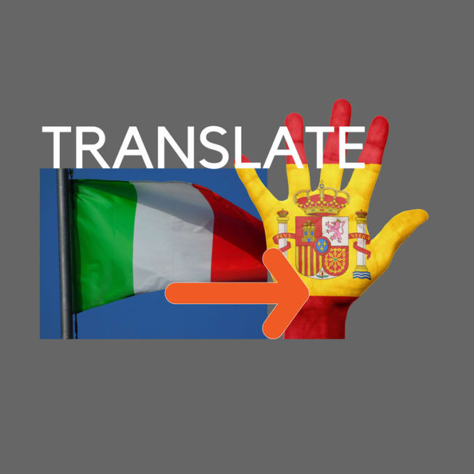 translate italian to spanish 600 words