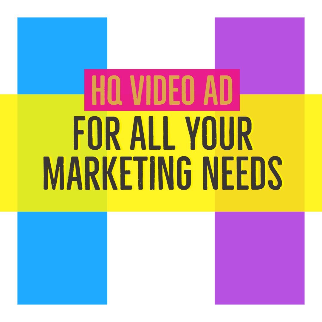 Make an amazing and professional Video Ad for you