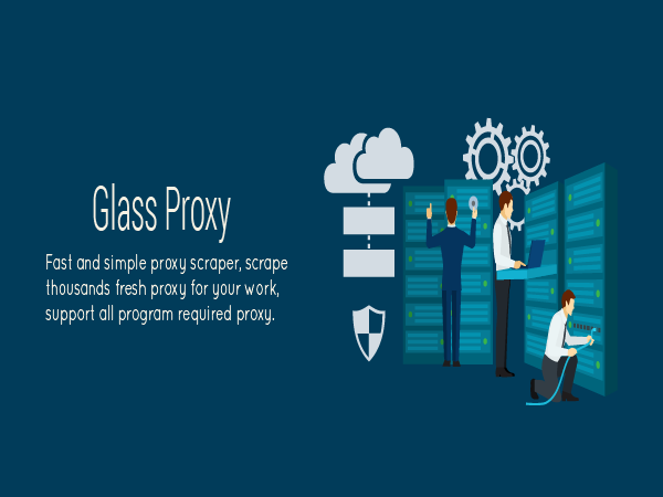 Glass Proxy - Proxy Lists Scraper