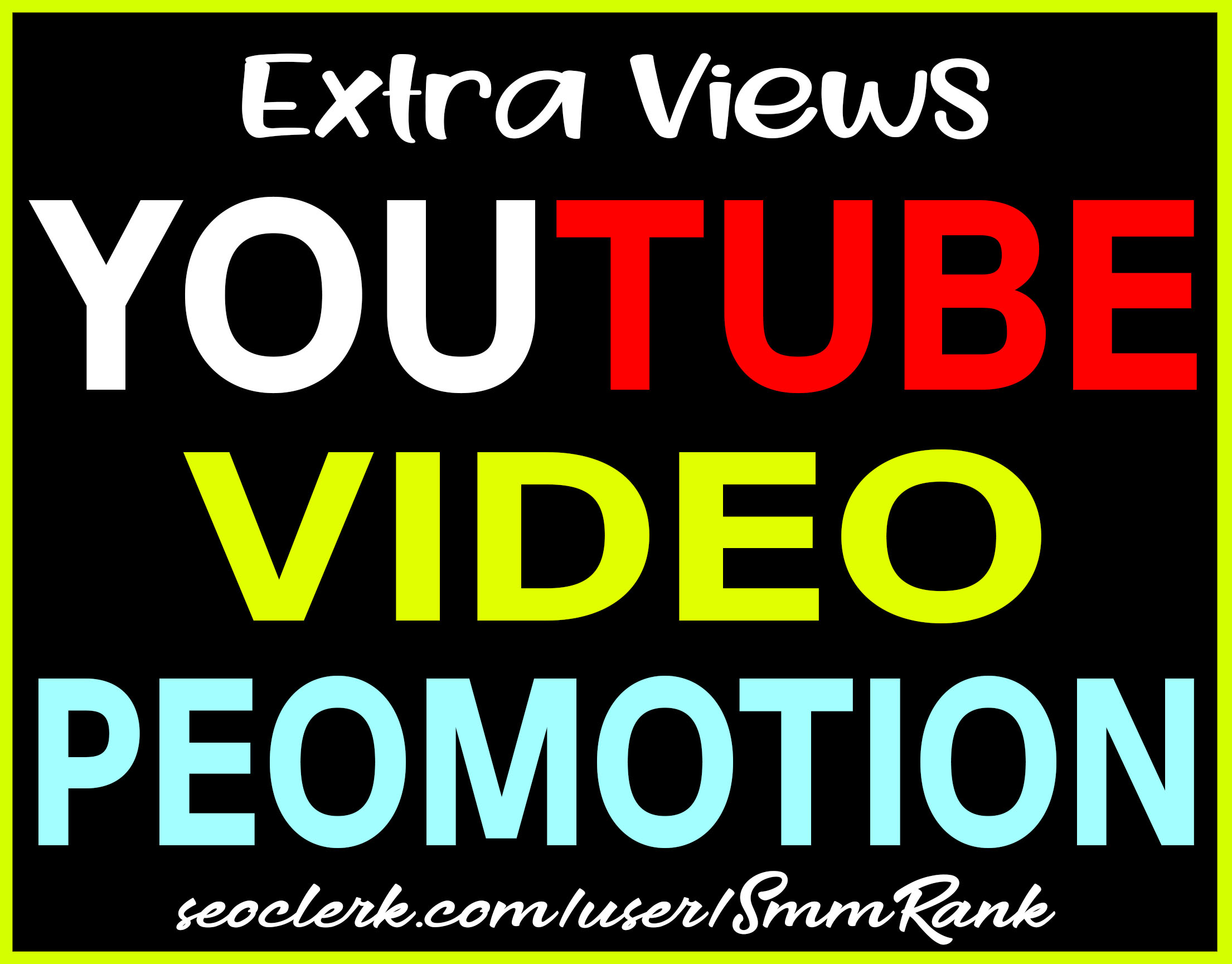 YouTube Video Real HQ Promotion & Good For Ranking