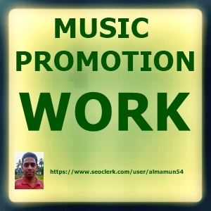 Organic music promotion all package in one service