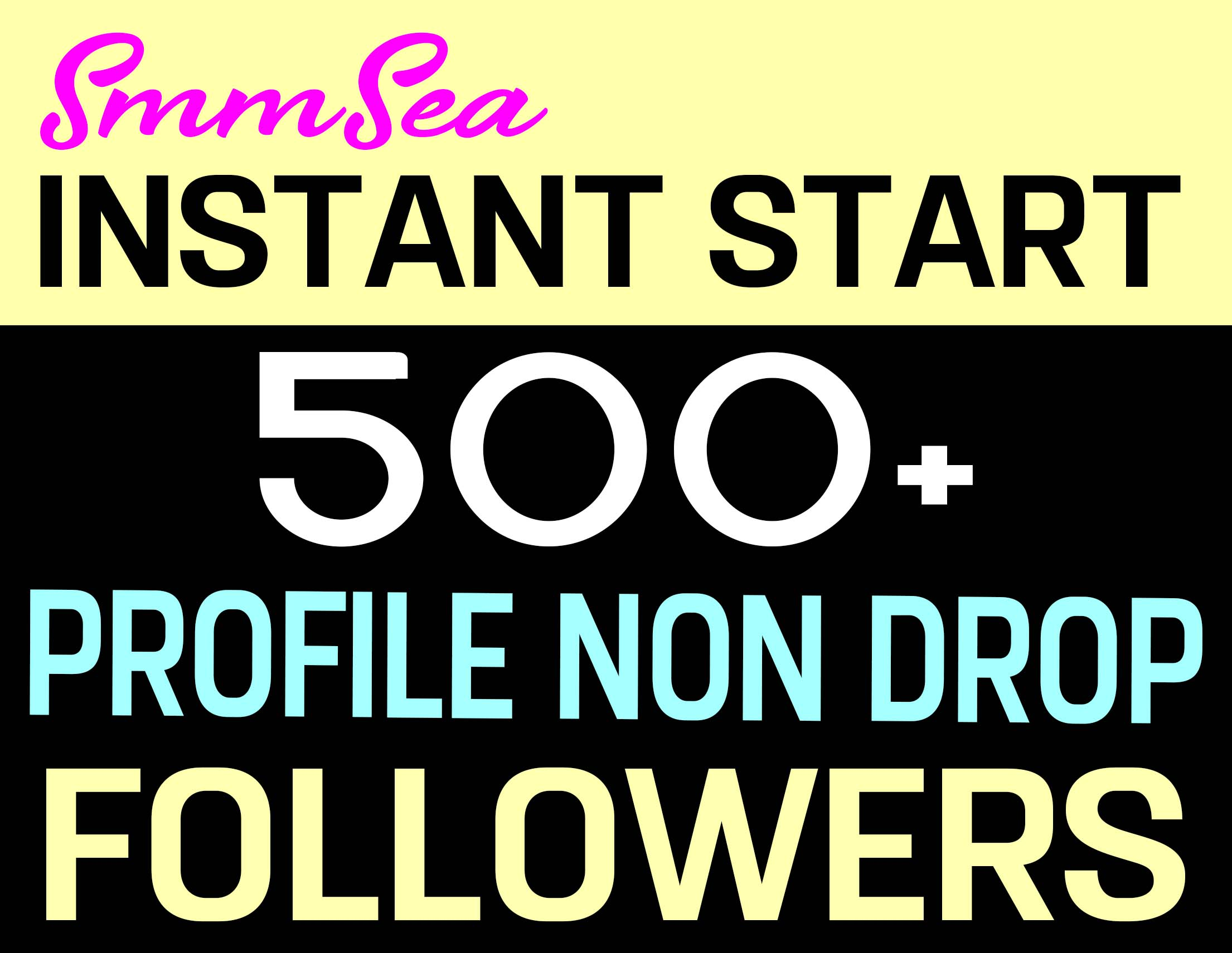 ADD 500+ PROFILE FOLLOWERS NON DROP AND HIGH QUALITY - INSTANTLY