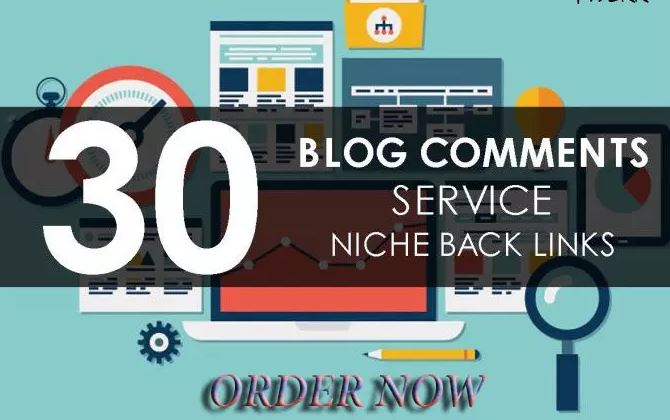 30 Niche Relevant Blog Comments DA 15+