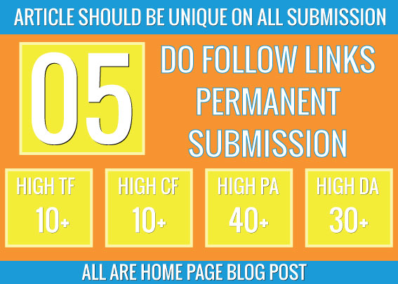 create homepage permanent do follow 5 pbn backlinks