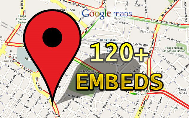 DO 120+ EMBEDS of Your Google Map on web2 HIGH DA