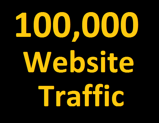 100,000 Website traffic+ google analytics traceable + Keyword targeted