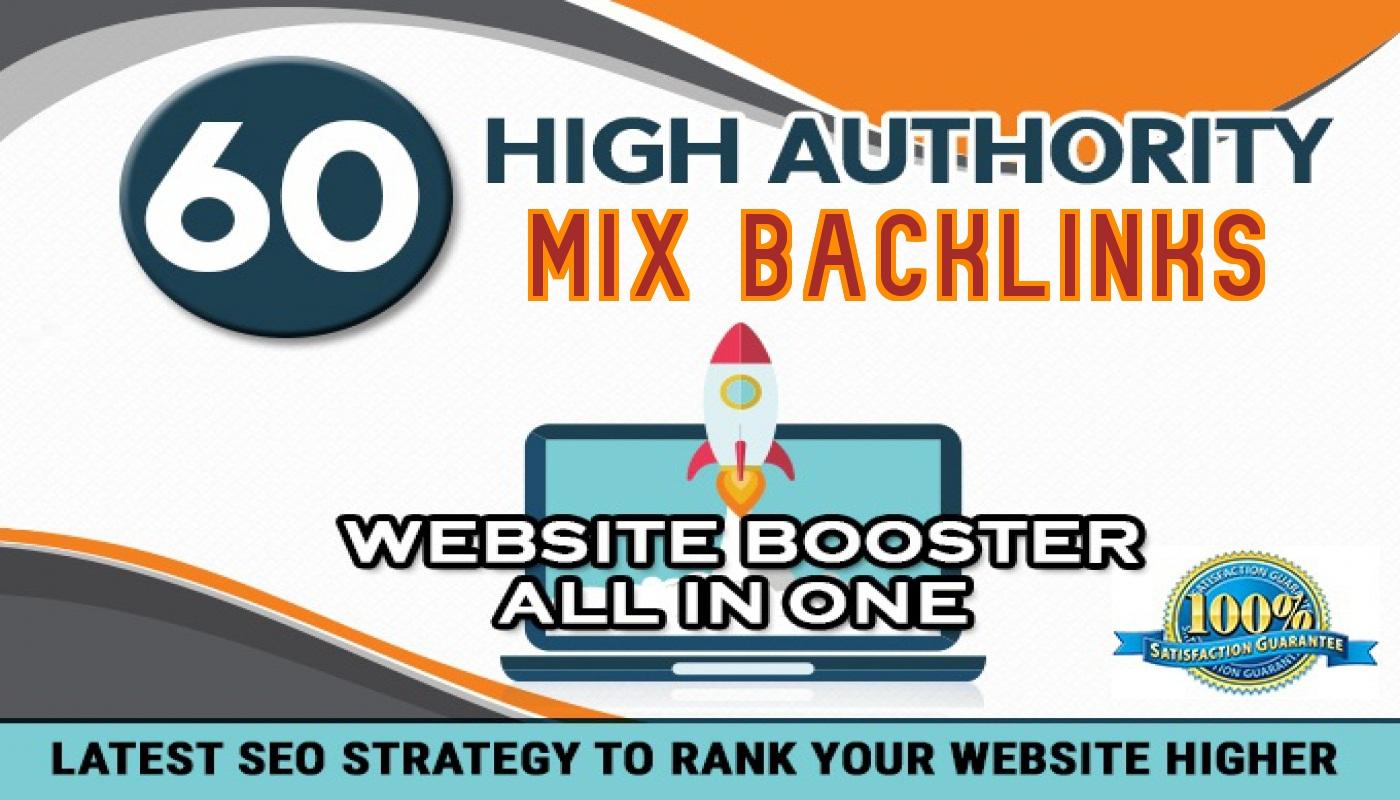 Rank you high with ORGANIC seo strategy backlinks