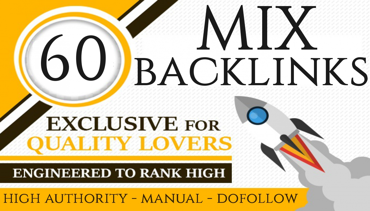 Rank you high with latest seo strategy backlinks