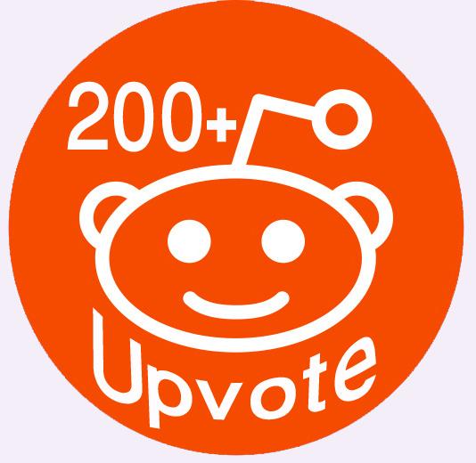 World Wide 200+ Real Human Reddit Upvotes