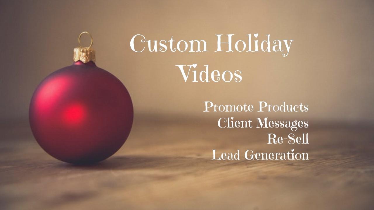 Engaging Custom Seasonal Promotional Videos