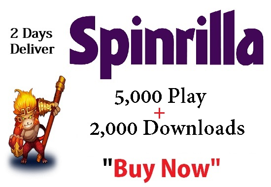 spinrilla single 5,000 play + 2,000 downloads single track only