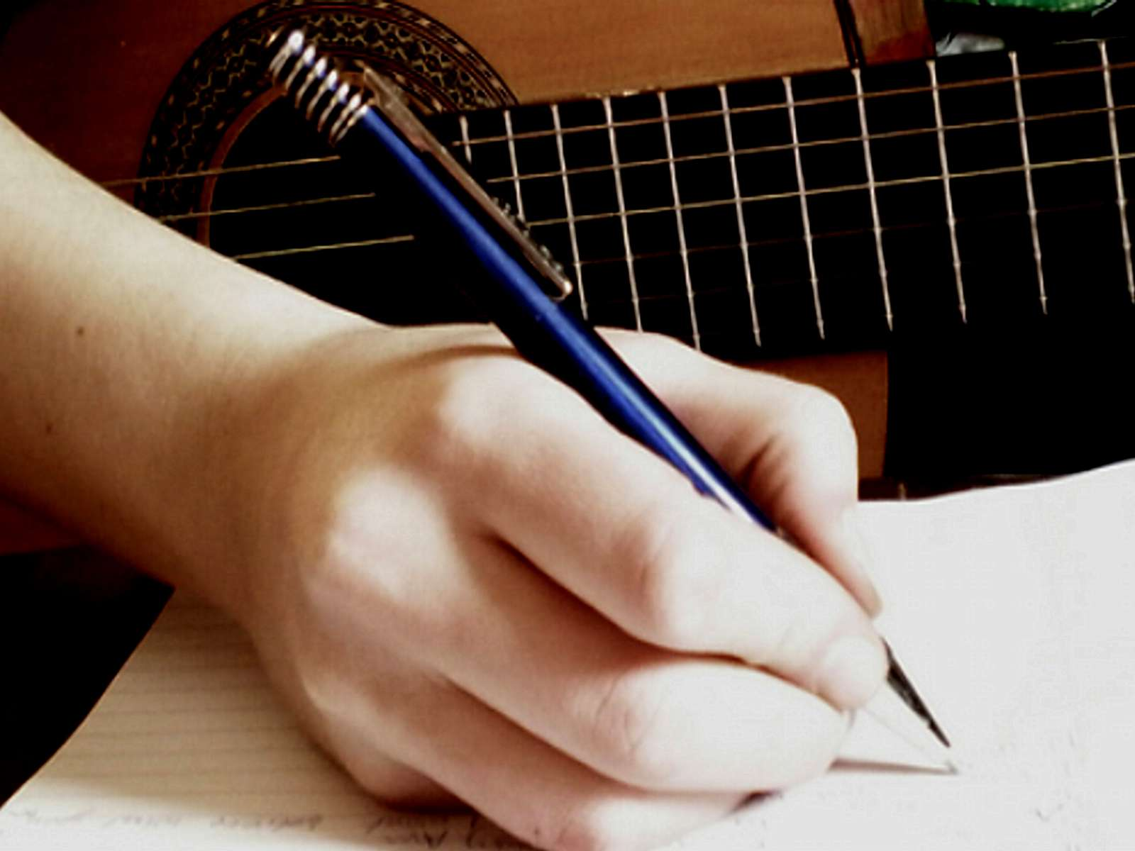 Song writing with verses and a hooks about anything you want