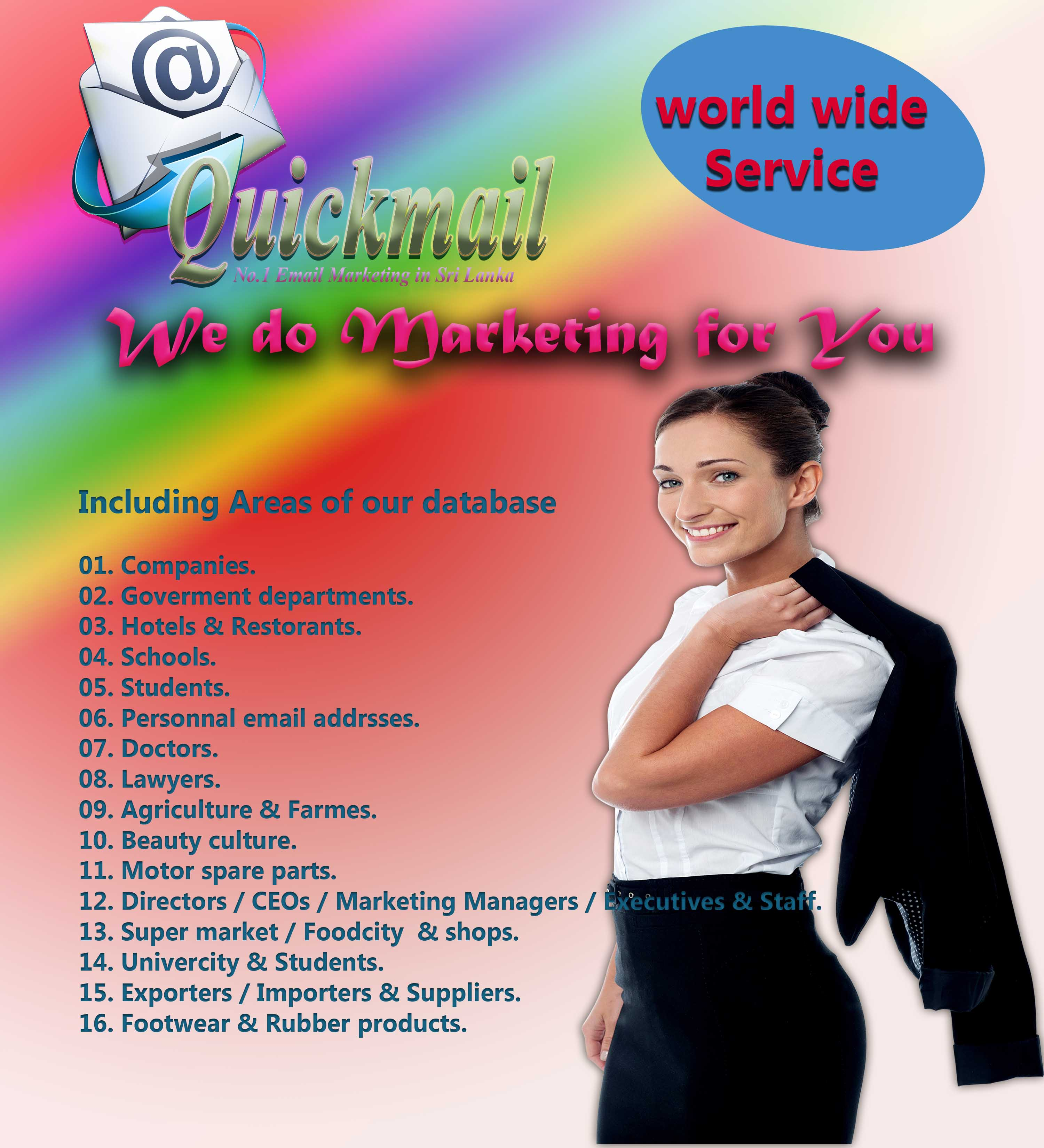 Do Email Marketing world wide service