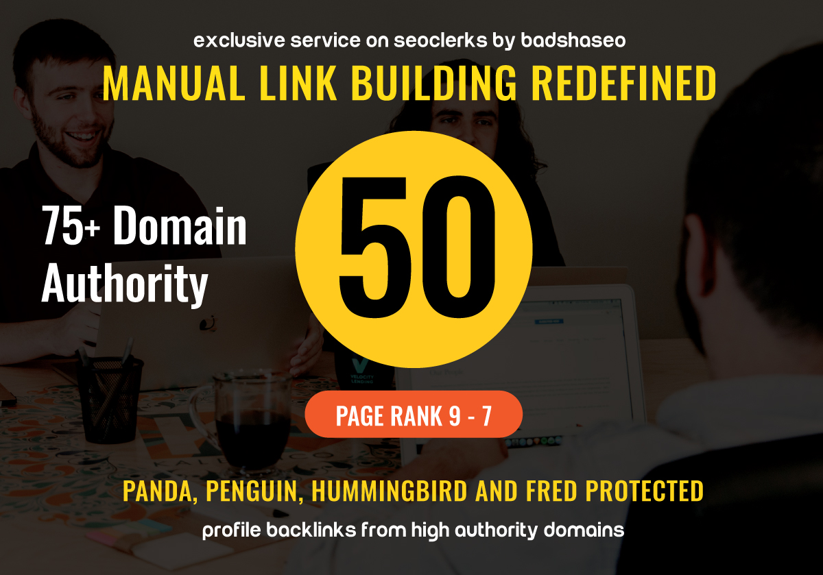 Super Quality 50 Google loved Backlinks And will add ...