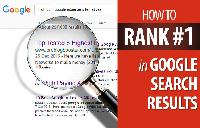 Rank Your Website On The First Page Of Any Search Engine