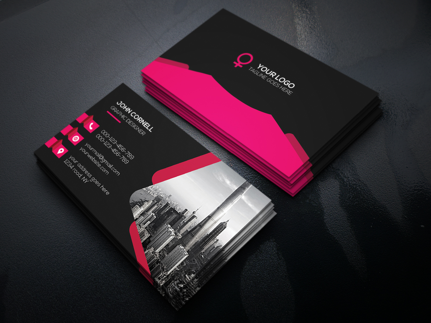 Design Professional Business Card In 24 Hours