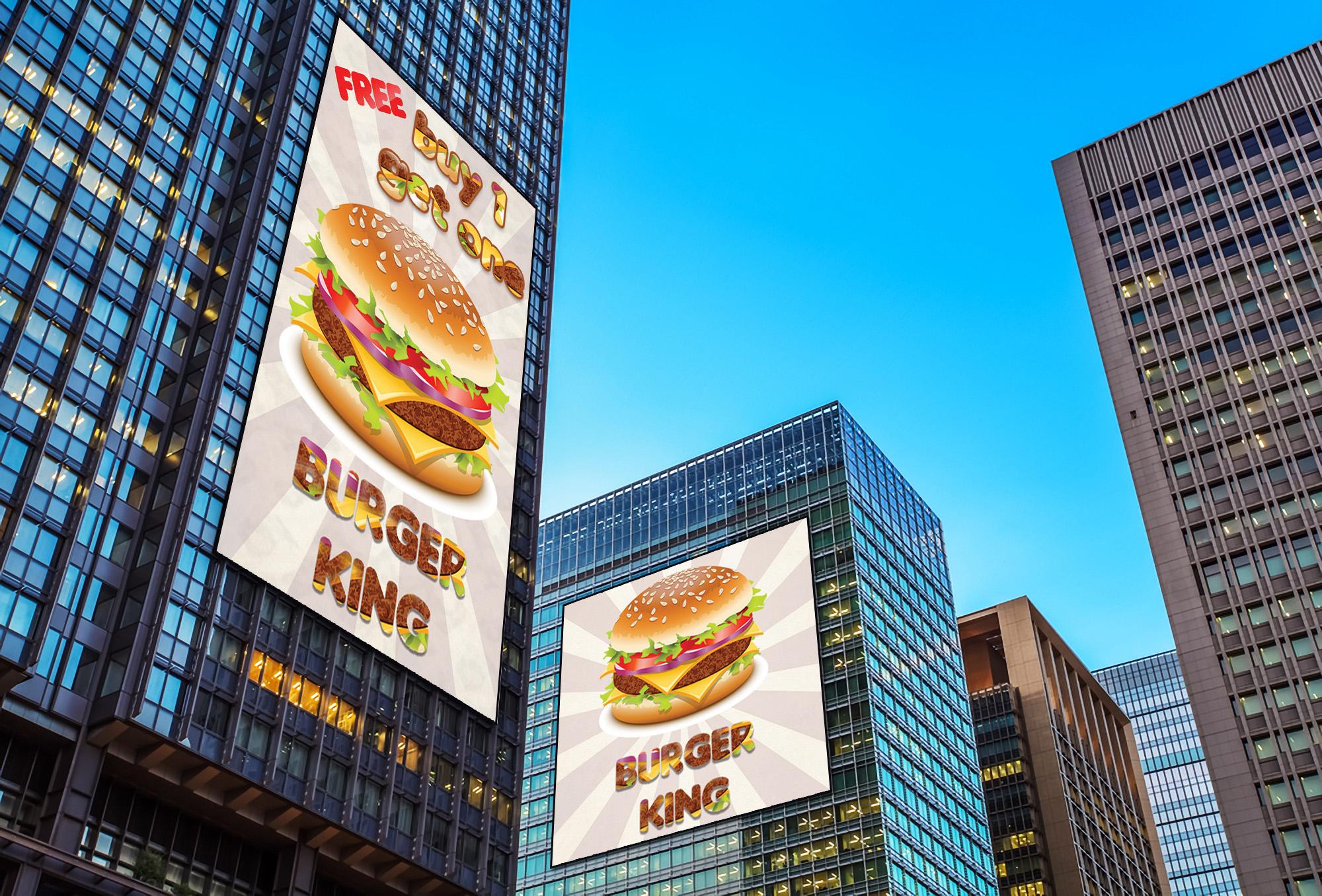 Design A Billboard,  Banner Or Outdoor